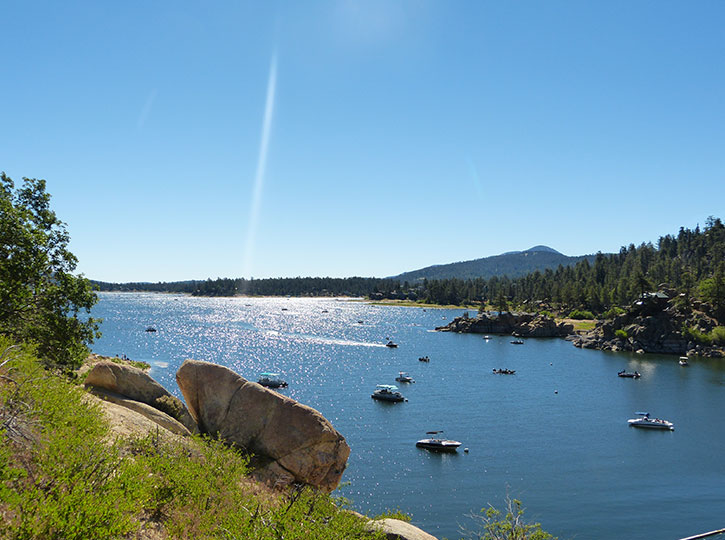 Big Bear Lake at Noon