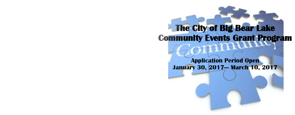 Fiscal Year 2017-2018 Community Events Grant Program