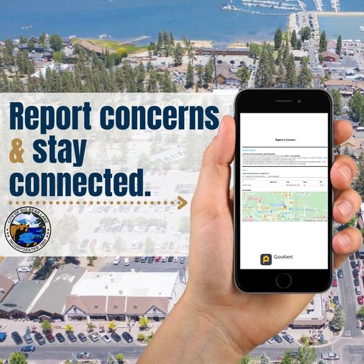 report concern and stay connected